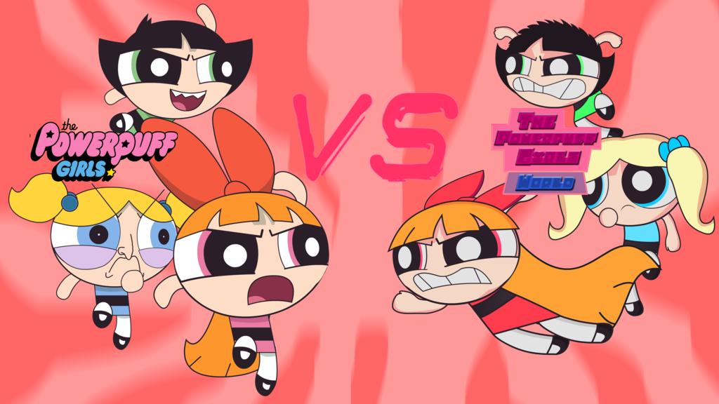 Image  The powerpuff girls world vs powerpuff girls 2016 by