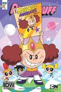 Powerpuff Girls (2016) issue 1 SDCC 2016 cover