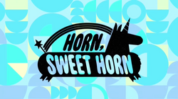 HornSweetHorn Titlecard