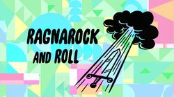 Ragnarock and Roll Title Card