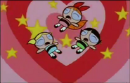 The PowerPuff Girls from Candy is Dandy
