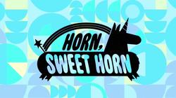 Horn Sweet Horn - Titlecard