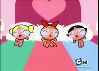 The Powerpuff Girls are Sun burn