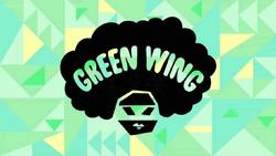 Green WingCard