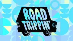 Road Trippin' Title Card