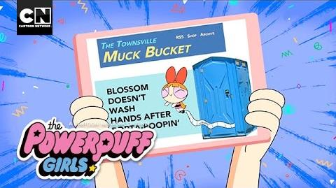 Powerpuff Girls Muck Bucket Cartoon Network