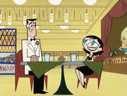 Utonium and Keane Awkward Date