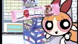 Powerpuff Girls Air Heads Commercial