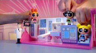 Spin Master Powerpuff Girls Flip To Action Playset
