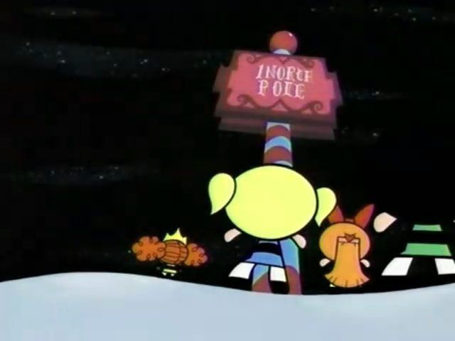fileppg and princess at north polejpg - Powerpuff Girls Twas The Fight Before Christmas