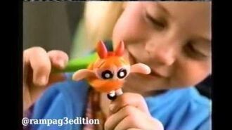 Powerpuff Girls - Kid's Pack - Toy TV Commercial - TV Spot - TV Ad - Subway