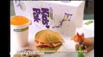 Subway Ad- Powerpuff Girls (2000)