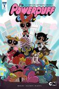 Powerpuff Girls Time Tie issue 1 cover RI