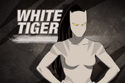 White tiger from spider man