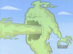 Methane Monster