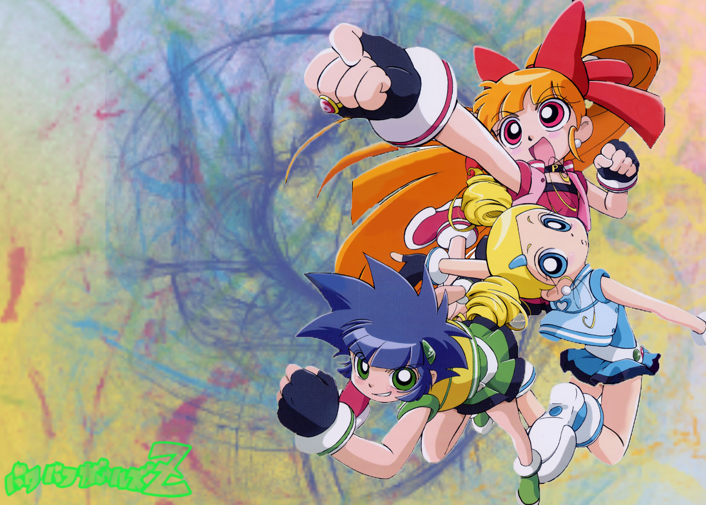 Image  Demashita Powerpuff Girls Z by tiffany12png  The