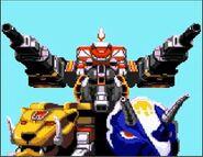 Megazord Tank Mode Game Gear