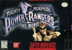 Mighty Morphin Power Rangers The Movie SNES