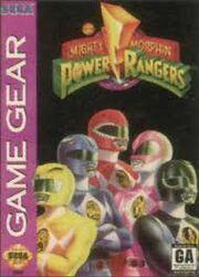 MM Power Rangers Game Gear
