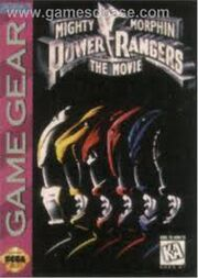MMPR The Movie Game Gear