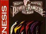Mighty Morphin Power Rangers The Movie (Sega Genesis)