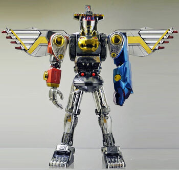 Ninja FalconMegazord<br /><p>Ninja Megazord Battle Mode</p>