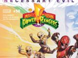 Mighty Morphin Power Rangers (Boom! Studios) Issue 50