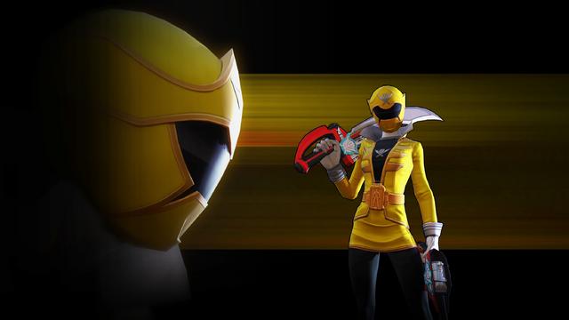 FileLegacy Wars Yellow Super Megaforce Ranger Wallpaper