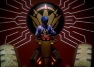 Mezodon Megazord Cockpit with Blue
