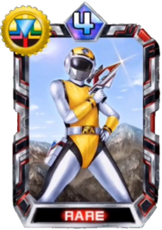 Yellow Flash Card in Super Sentai Legend Wars