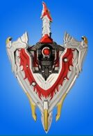 Transformation Rotating Sword Houou Blade & Houou Shield