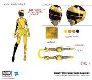 Yellow Solar Ranger concept