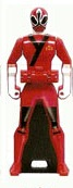 Princess Shinken Red Ranger Key