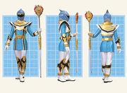 Синий Легендарный Воин