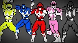 Mighty Morphin Power Rangers (Game Boy) - Intro
