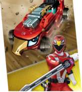 Red Eagle Racer Megazord Madness
