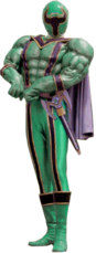 Green Mystic Ranger in Mystic Muscles