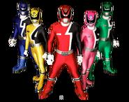 Power Rangers Space Patrol Delta (Team)