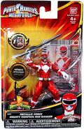 Metallic Force Mighty Morphin Red Ranger