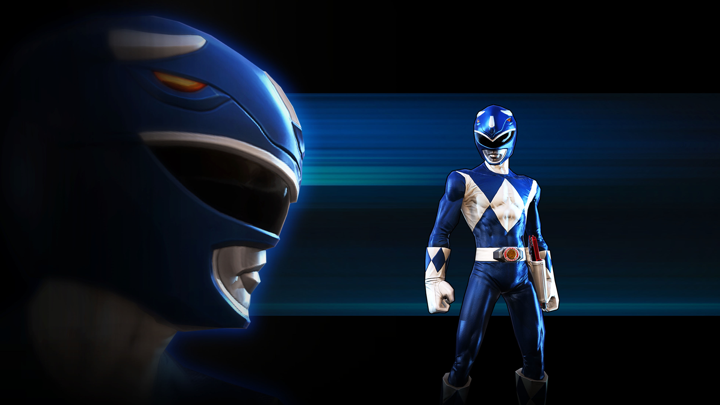 image - legacy wars mighty morphin blue ranger wallpaper