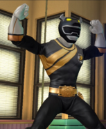 Legacy Wars Black Wild Force Ranger Victory Pose