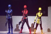 Spandex Go-Busters 2