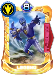 AbareBlue Card in Super Sentai Legend Wars