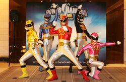 Power Rangers Online - Goseiger Press Conference