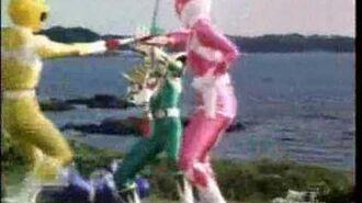 Ranger Vert VS Power Rangers. Green Ranger 2