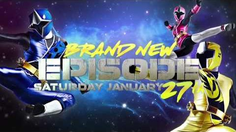 Power Rangers Super Ninja Steel TV Spot