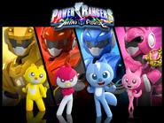 Power rangers mini force by joeshela1093492