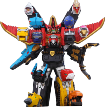 Ultra Gosei Great Megazord