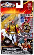 Ultra Metallic Force Red Ranger
