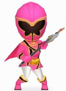 Pink Mystic Ranger in Power Rangers Dash